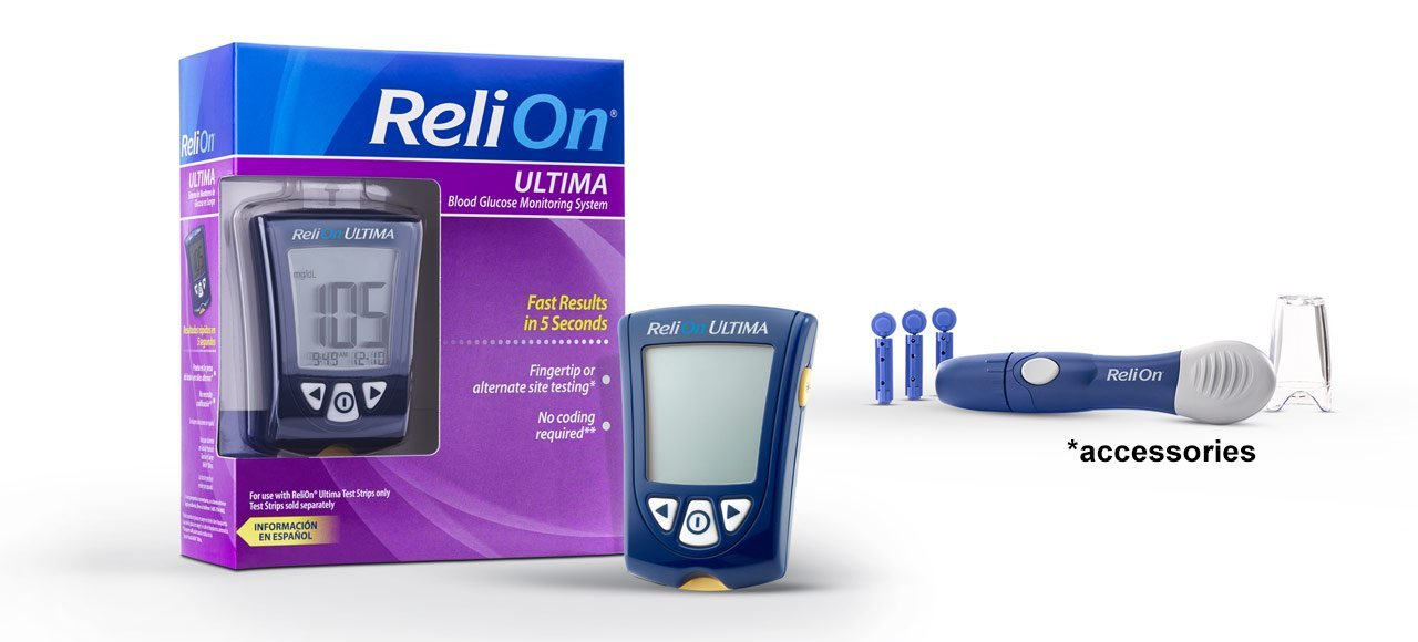 Amazon Com Relion Ultima Blood Glucose Test Strips 100