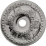 Ekena Millwork CM23GAPCF Granada Ceiling Medallion, Pot of Cream
