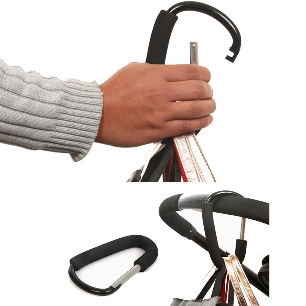 XXYsm Baby Buggy Clips Large Pram Pushchair Shopping Bag Hook Mummy Carry Clip (L) VBPRHMAZUKAZIA4146