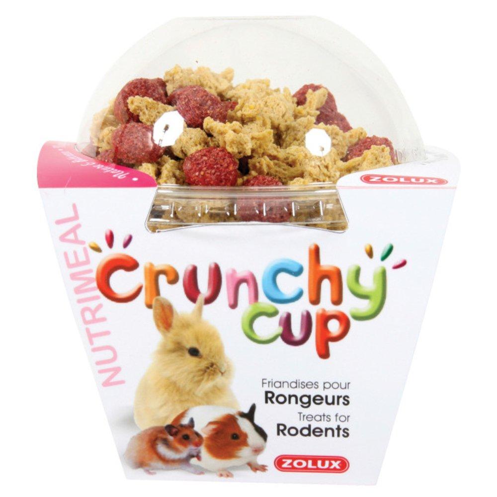 Zolux Crunchy Cup Friandise Nuggets Nature/Pellets Betteraves pour Petit Mammifère 130 g