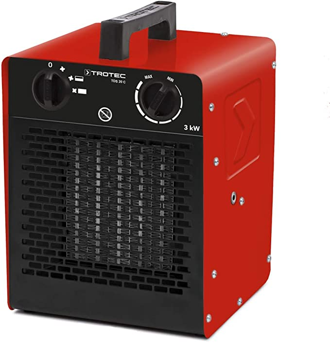 TROTEC TDS 10 M Elektroheizer Heizgerät Keramik Heizlüfter Keramikheizer 2 kW