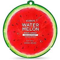 Holika Holika Water Meloen Maskerplaten 10 stuks met Water Meloen Hoofd Band voor Gezicht Was 25ml/0.84oz,watermeloen…