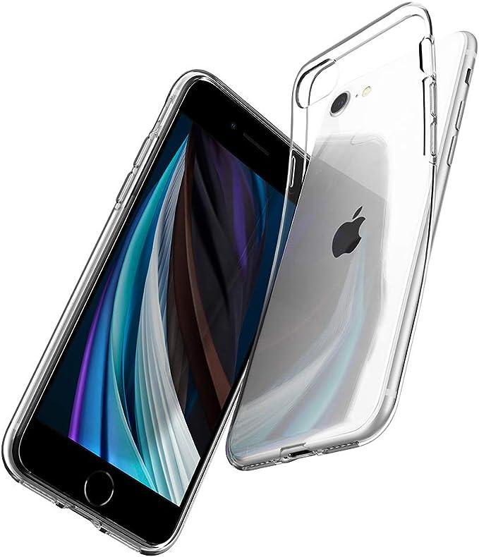 Spigen Liquid Crystal Hülle Kompatibel Mit Iphone Se 2020 Kompatibel Mit Iphone 8 Und Iphone 7 Crystal Clear Elektronik