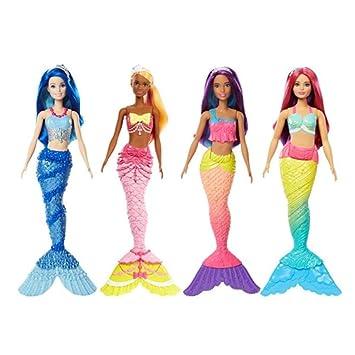 Barbie Sirenas Dreamtopia Surtido/Modelos Aleatorios (Una unidad)(Mattel FJC89)