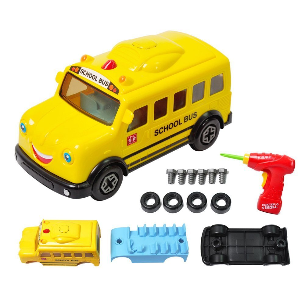 Take Apart Car with Tool Drill Racing Cars Toy for Kids ...