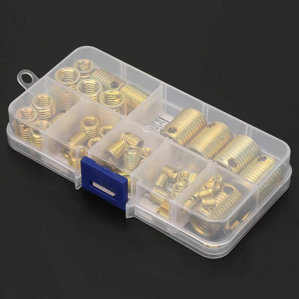 50Pcs Kit de Jeu Dinserts de R/éparation de Manchon de vis Haute R/ésistance Manchon de R/éparation de Filetage 307