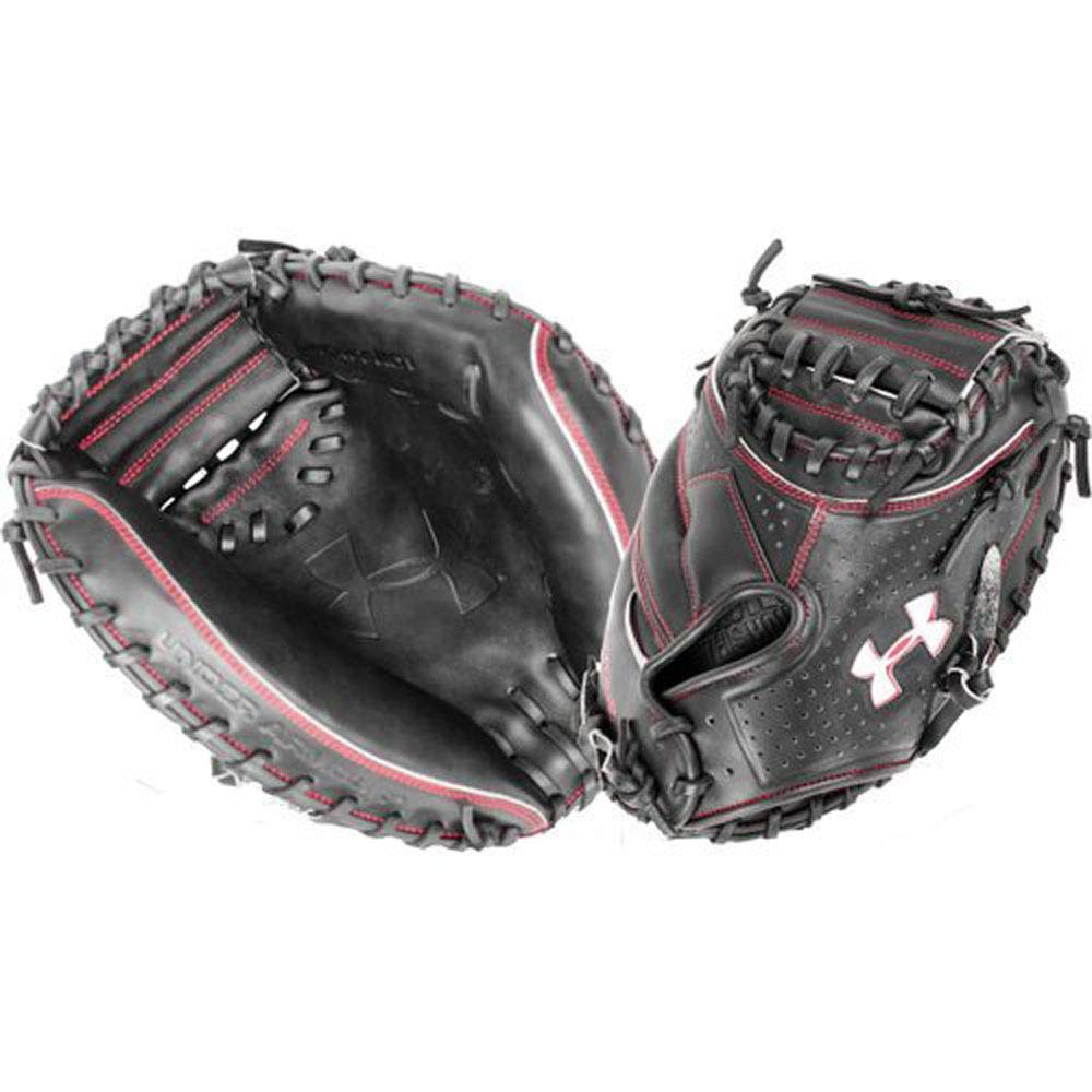 Under Armour Baseball UACM-PRO1 Professional Series Baseball Catching Mitt, Black, Adult 34'' by Under Armour Baseball