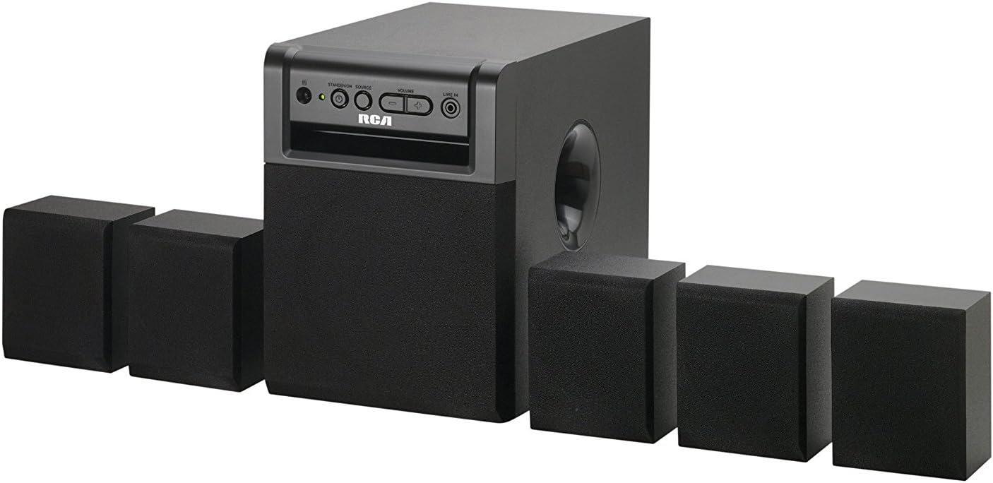 Amazon.com: RCA rt151 sistema de cine en casa: Home Audio ...