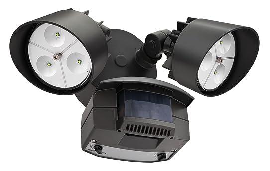 High Quality Lithonia OFLR 6LC 120 MO BZ LED Outdoor Floodlight 2 Light Motion Sensor,  Dark