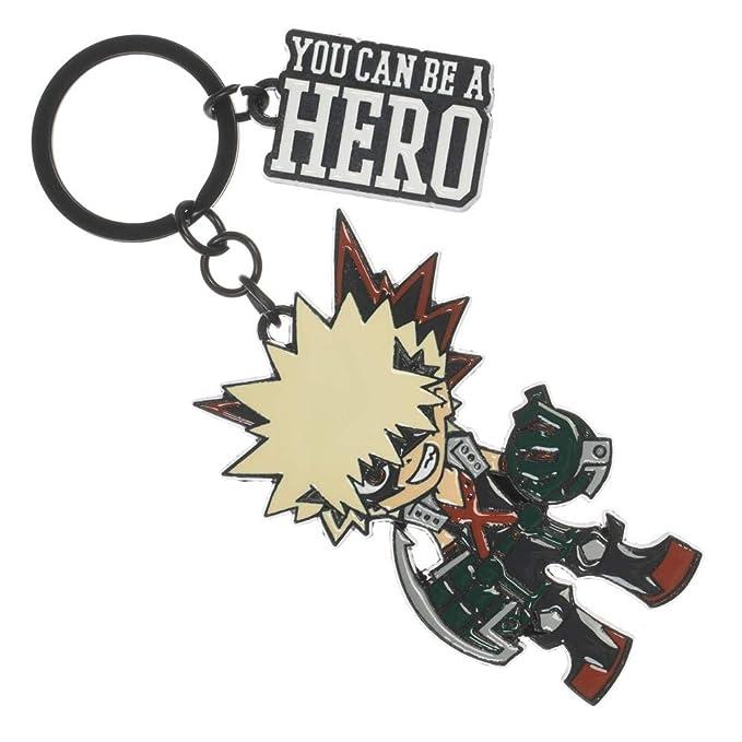 Amazon.com: My Hero Academia - Llavero Bakugo: Clothing