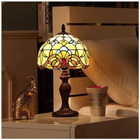YYF Lámpara de mesa de dormitorio barroco europeo - creativo ...