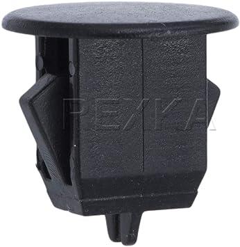 VOLVO Rear Bumper Retainer Cover Rivet Trim Clips Push Pin Type 10x