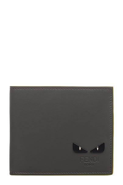 Fendi - Cartera para hombre Hombre gris Marke Talla UNI: Amazon.es: Ropa y accesorios