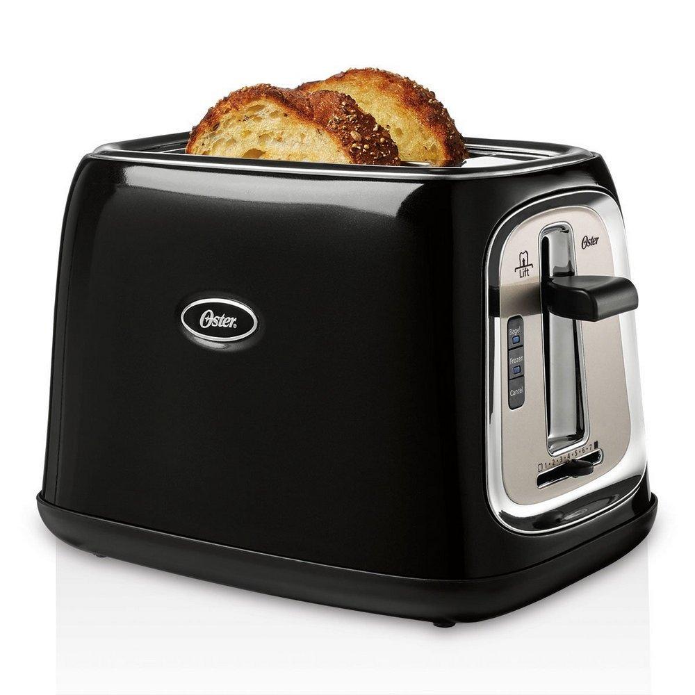 Oster 2-Slice Toaster, Black, TSSTTRJB0K