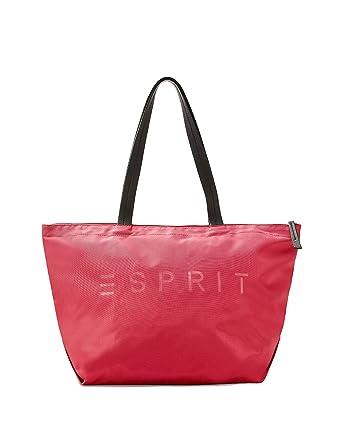 c53763a3be788 ESPRIT Damen Handtasche Tasche Shopper Cleo Shopper Pink 088EA1O050 ...