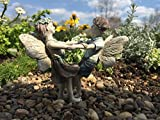 Miniature Fairy Garden Limited Edition Boy and Girl Fairies Daincing Isaac and Ivy