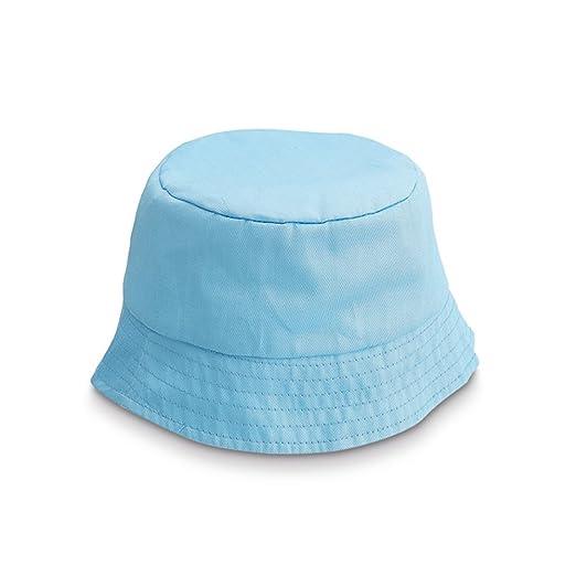 Amazon.com  eBuyGB Childrens Polyester Bucket Hat (Light Blue)  Clothing 198808169b0