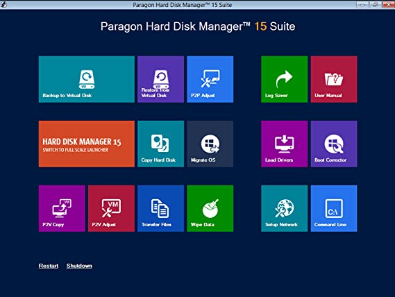 paragon partition manager iso download