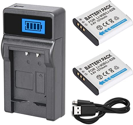 G900SE, WG-6 GR III CARICABATTERIE Micro-USB per Ricoh G900