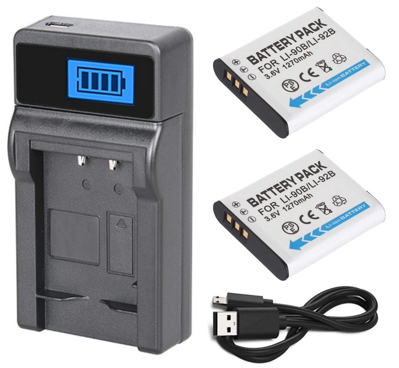 Olympus Stylus XZ-2 iHS - Cargador USB para cámara Digital ...