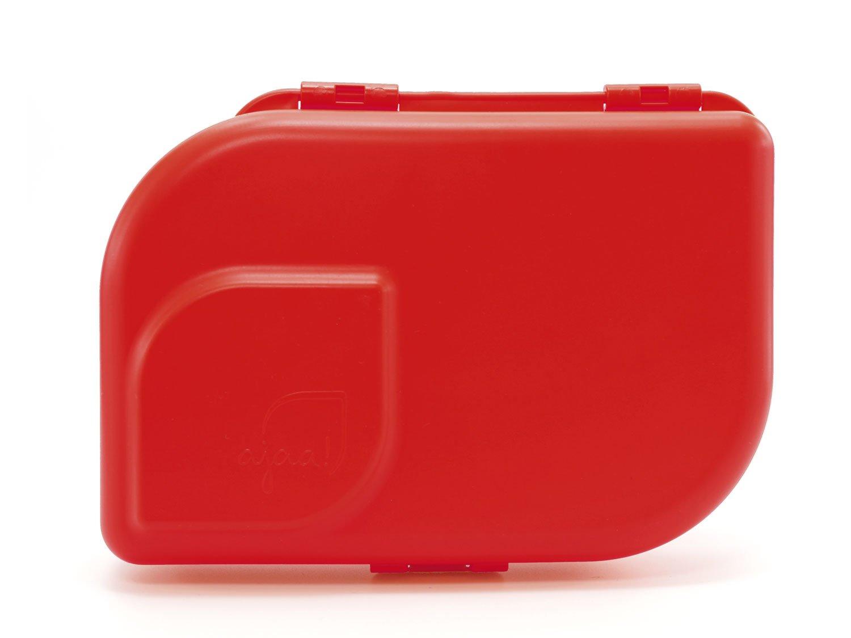 ajaa! Bio NANA BROTBOX rot - Lunch-Box aus nachwachsenden Rohstoffen 4esolutions