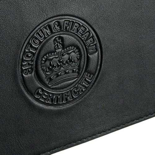 Black Wallet Genuine Choices Double Shot Colour 4 Firearm Gun Leather Holder Certificate 6wwPTfqZ
