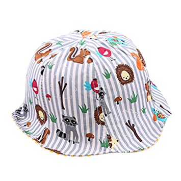 Amazon.com   Baby Bucket Hats for Boys Girls 5d0749adf1e6
