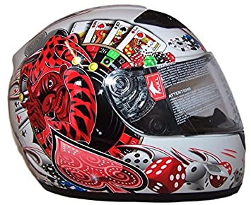 Thh negro joker TS39 Full Face casco