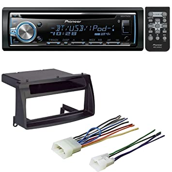 61YbtvFXjWL._SY355_ amazon com car radio stereo cd player dash install mounting kit car stereo installation kit wiring harness at readyjetset.co