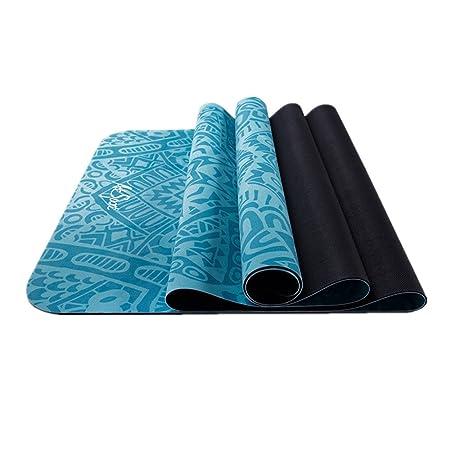 Antideslizante Yoga Mat Estera de la Estera del Yoga de la ...
