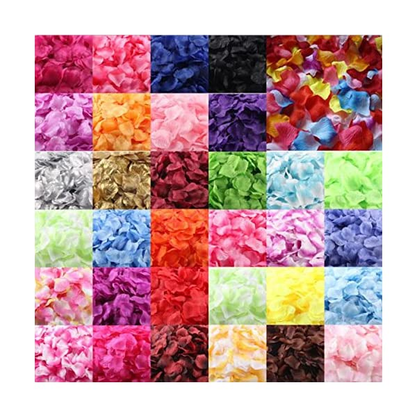Quaanti-1000pcs-Multicolor-Silk-Rose-Petals-Artificial-Flower-Petals-for-Wedding-Confetti-Flower-Girl-Bridal-Shower-Hotel-Home-Party-Valentine-Day-Flower-Decoration-J