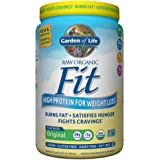 Garden of Life Organic Meal Replacement - Raw Organic Fit Vegan Nutritional Shake for Weight Loss, Original, 30.1oz (854g) Powder