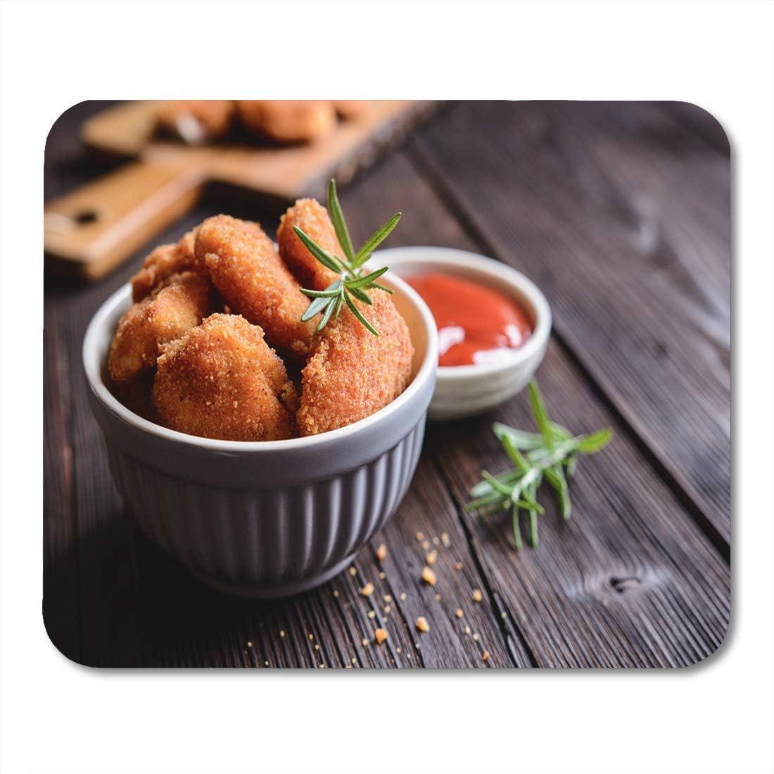 Almohadilla para ratón Carne Frito Empanizado Pepitas de ...