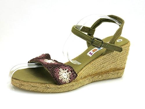Sandali Ibiza Estive Con Scarpe Alto Sandalo Tacco Zeppa IIwWOxPg4q