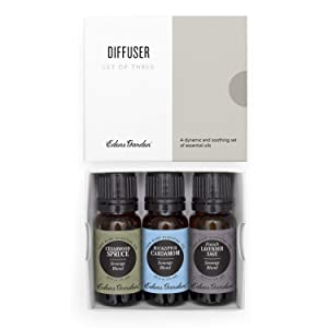 Edens Garden Diffuser Essential Oil 3 Set, Best 100% Pure Aromatherapy Starter Kit (For Diffusion & Therapeutic Use), 10 ml