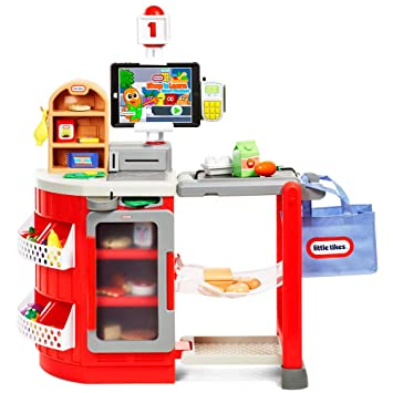 9752fd0f441f Little Tikes Shop and Learn Smart Checkout: Amazon.co.uk: Toys & Games