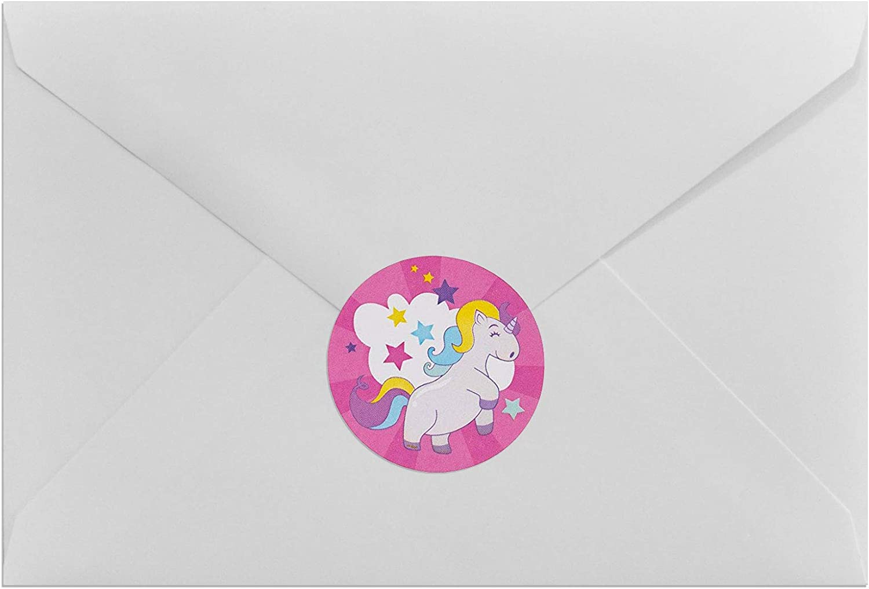 Paper Projects 01.70.31.010 Unicorns Assortment Sticker Pack ...