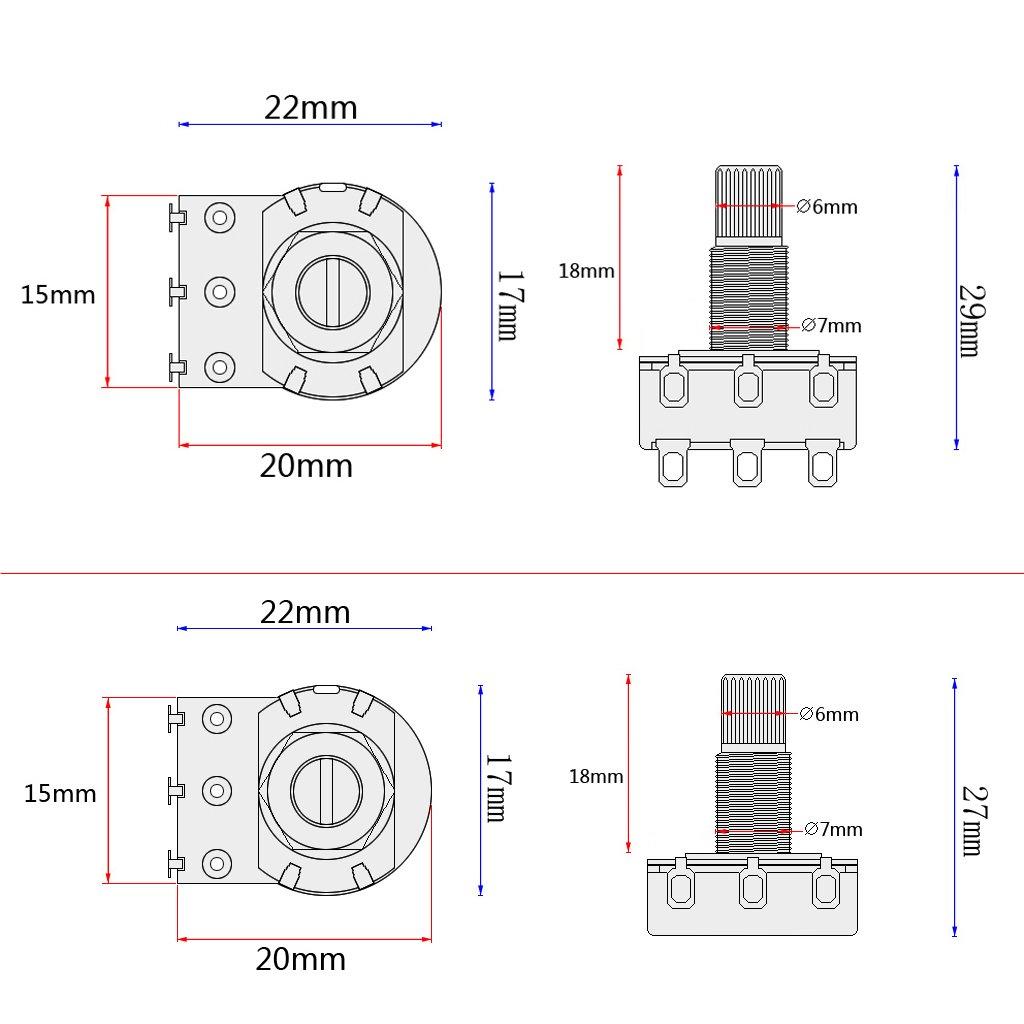 Monkeyjack Loaded Wiring Harness Potentiometer 3 Band Amp Eq Preamp Diagram Equalizer Pickup For Jb Pb Bass