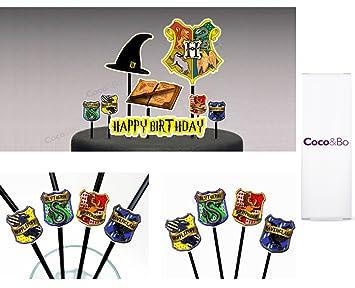 Coco Bo Hogwarts Hauser Starter Party Pack Fur 8 Essen Und