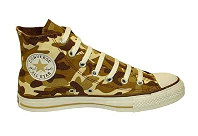 Converse Chuck Taylor All Star Prt Hi Tan Camo High-Top Canvas Fashion  Sneaker -