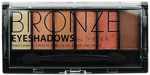 12 opinioni per Technic tavolozza di ombretto 6 colori bronzo con applicatore Double-Ended