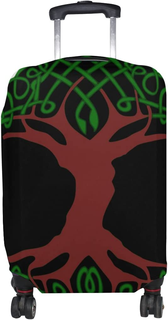 LEISISI Celtic Tree Protector Cover Elastic Suitcase Cover Luggage Cover Protector XL 31-32 inch