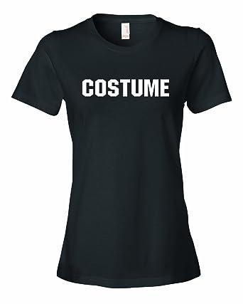 ladies costume this is my generic halloween costume t shirt black