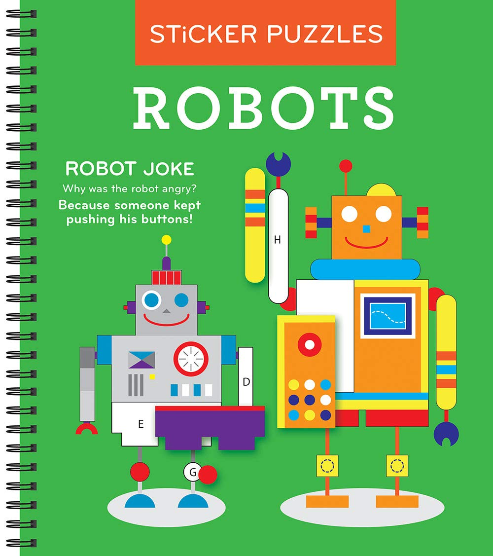 Sticker Puzzles Robots New Seasons product image