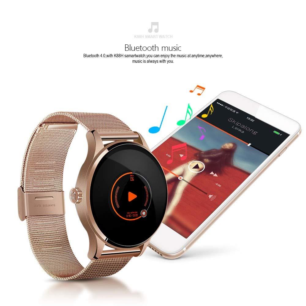 UTHDELD Smartwatch K88H Reloj Inteligente Monitor de Ritmo ...