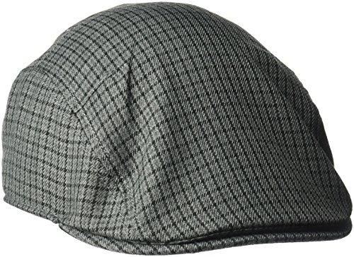 Goorin Bros. Men's Oscar Ivy Newsboy Hat, Charcoal, Small