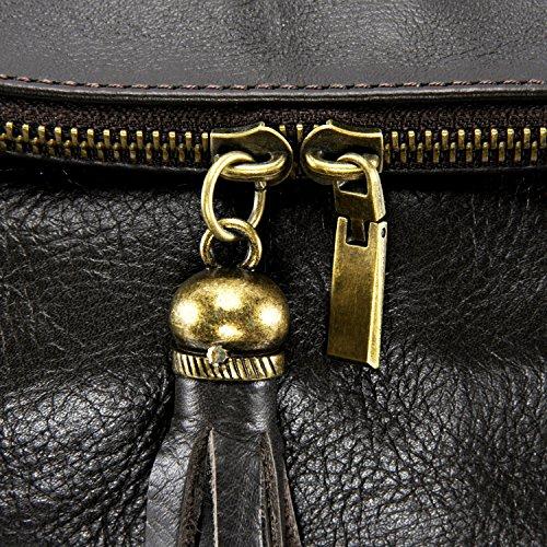 à Fonce Main OH petit Modèle MY BAG Marron 72 heures souple cuir Sac tIBS7xB
