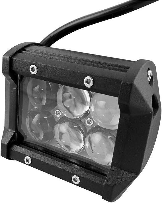 LARS360 2x 18W Luces de Trabajo LED Auto Luz de trabajo Foco Lampara Resistente Al Agua IP67 6500K para tractor Excavadora coche SUV ATV UTV