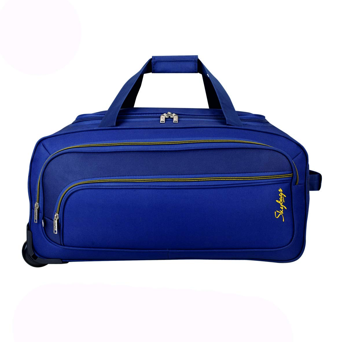 Skybags Scot Plus Polyester 64 cms Blue Travel Duffle (DFTSPE64BLU)