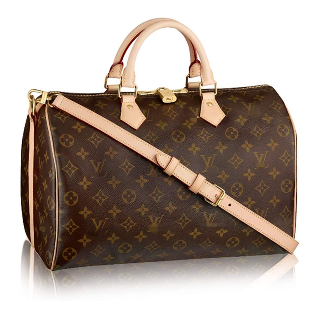 Brown Bags Forest Leather Handbags 2pcs Set for Women Fashion Purse Shouler Totes Bags